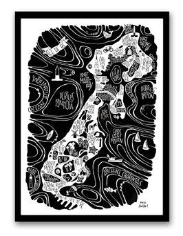 Grand Poster Ile de Ré
