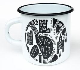 Mug Emaillée La Rochelle