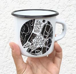 Mug Emaillée Hossegor