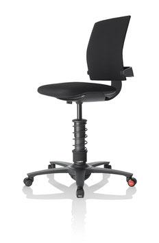 3DEE Bürostuhl in der Farbe Schwarz- 3DEE01