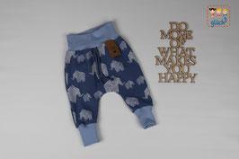 Pumphose Ben Gr. 62 #Elefant blau