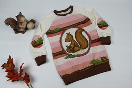 Long-Shirt Vanja Gr. 110 #Eichhörnchen