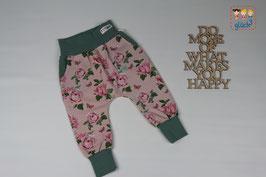 Pumphose Ben Gr. 74 #Rosen rosa