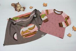 Shirt mit Weste Gr. 92 #Eichhörnchen