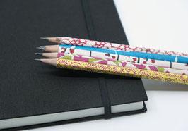 Zeichnungsbuch Leinen mit Bleistift