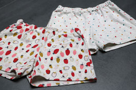 Kit couture: 2 shorts fille