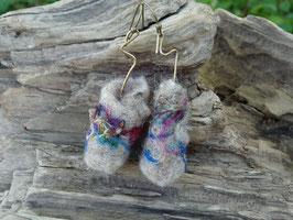 Boucles d'oreilles sari Bohême