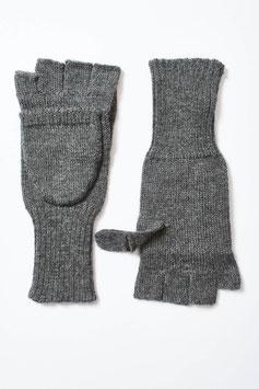 Praktische Handschuhe mit Klappe aus Baby-Alpaka