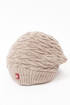 Beanie Mütze aus 100 % weichem Baby-Alpaka