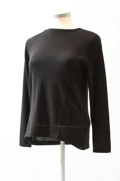 Damen-Pullover aus 100 % Baby-Alpaka mit Rundhals-Ausschnitt