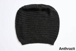 Leichte Beanie Mütze aus reiner Baby-Alpaka-Wolle