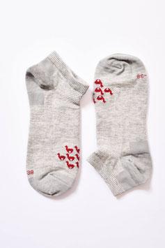 Leichte Alpaka Sneaker-Socken für wärmere Tage