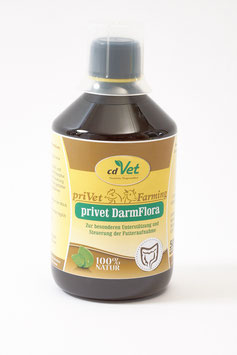 privet DarmFlora - positiv für das Immunsystem des Alpakas (500 ml)