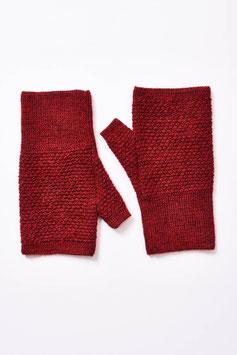 Pulswärmer / halbe Handschuhe aus 100 % Baby-Alpaka in vielen Farben
