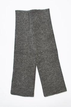 Dehnbare gerippte Beinstulpen aus reiner Alpaka-Wolle