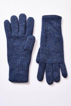 Warme Wende-Finger-Handschuhe für Herren aus 100 % Babyalpaka-Wolle
