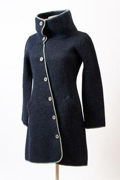 Mantel aus weichem Alpaka-Woll-Filz