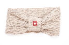 Modisches Stirnband aus Baby-Alpaka-Wolle