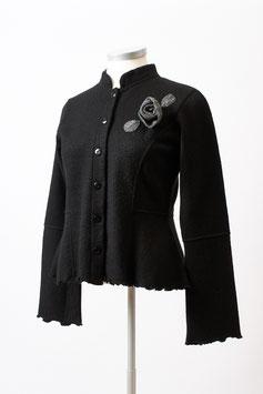 Leichte und feine  Damen-Walkjacke aus Alpaka-Woll-Filz