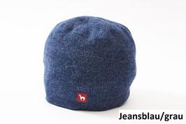 Sportlich elegante Alpaka-Wende-Mütze für Damen und Herren