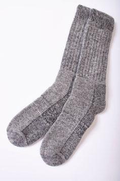 Kuschelig dicke Frottee-Socken mit Alpaka-Wolle