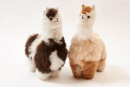Großes Fellalpaka / Alpaka-Kuscheltier für Liebhaber und Sammler