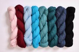 Feinstes Baby-Alpaka-Garn in schönen Farben