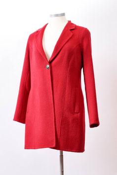 Eleganter Kurz-Mantel aus Alpaka-Woll-Gemisch