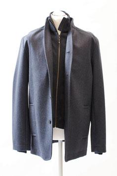 Sportlich eleganter Alpaka-Woll-Mantel für Herren