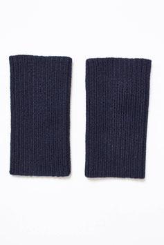 Kurze Pulswärmer/ Armstulpen aus 100 % Baby-Alpaka-Wolle in tollem Rippstrick