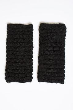 Pulswärmer aus warmer Alpaka-Wolle mit Daumenloch