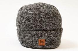 Zeitlose sportlich elegante Alpaka-Mütze mit breitem Umschlag