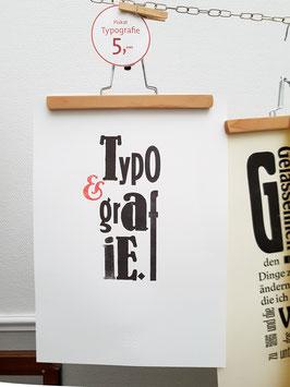 Typografie Plakat