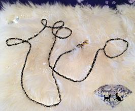 "Jewels4Pets Luxus Leine ""Silver Chain"""