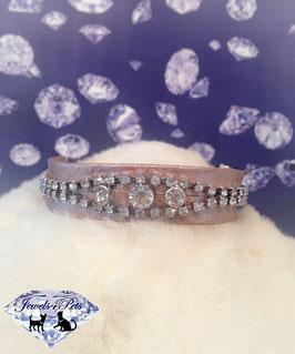 "Jewels4Pets luxury jewelry dog collar ""Prince"""