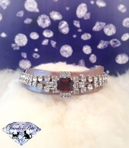 "Jewels4Pets luxury jewelry dog collar ""Majestic"""