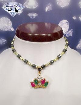"Jewels4Pets Luxus Hundecollier ""Crown"""