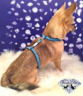 "Jewels4Pets luxury dog harness ""Universe"""