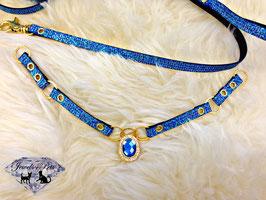 "Jewels4Pets luxury dog collar & leash ""Las Vegas"""