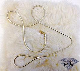 "Jewels4Pets Luxus Leine ""Goldfever"""