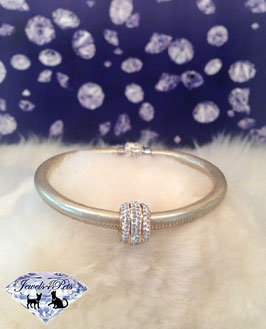 "Jewels4Pets luxury jewelry dog collar ""Goldie"""