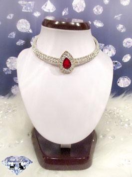 "Jewels4Pets dog necklace ""Heartfire"""