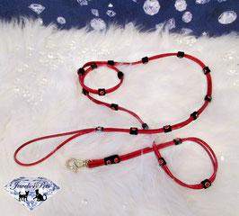 "Jewels4Pets luxury leash ""Salsa"""