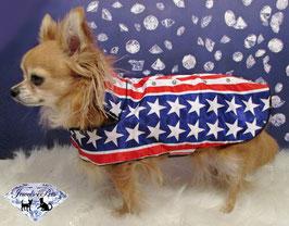 """Jewels4Pets dog jacket """"USA Dog"""""""