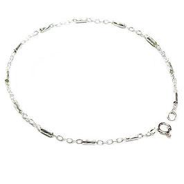 Silberarmband Stäbchen