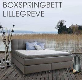 Boxspringbett Lillegreve inkl. GELTEX Topper