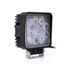 LED Arbeitsscheinwerfer, 9-30 Volt, 27 Watt