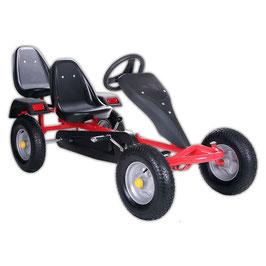 2-SITZ Rennkart Go-Kart Gocart Rot JU24502