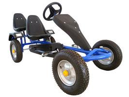2-SITZ Rennkart Go-Kart Gocart Blau JU24501