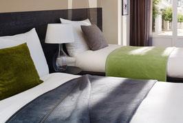 Schlafdecke / Wohndecke Baumwollgemisch